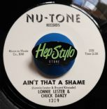 "45Re✦LONNIE LESTER & CHUCK DANZY✦ ""Ain't That A Shame""  -Essential Northern spin"